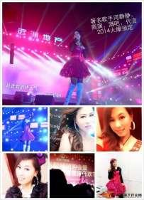 著名歌手河静静演唱现场震撼火爆 2014群星演唱会,酒吧,代言,欢迎合作